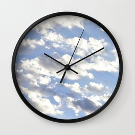 Cloud Caravan Wall Clock