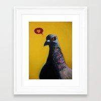 instagram Framed Art Prints featuring Instagram by Dretty Ink