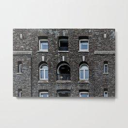 Brick Metal Print