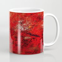 earth Mugs featuring Earth by Saundra Myles