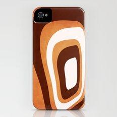 in retro brown iPhone (4, 4s) Slim Case