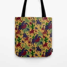 Cowboys Pattern Tote Bag