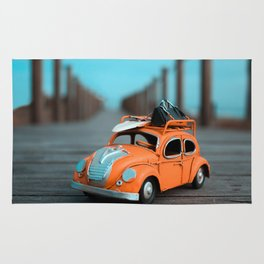 Little Cars, Big Planet (70's) Rug