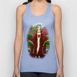 A Delicate Flower Grows In This Garden Unisex Tank Top