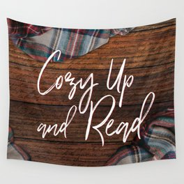 Cozy Up and Read Wall Tapestry