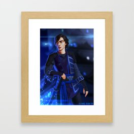 Spark of Honor - Katsuo Framed Art Print