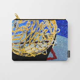 Basketball art swoosh 6 Carry-All Pouch