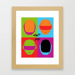 Daft Pop Framed Art Print