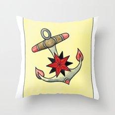 Anchor #2 Throw Pillow