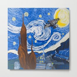 You Can't Take the Starry Night From Me.... Metal Print