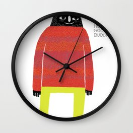 Good Buddy Wall Clock