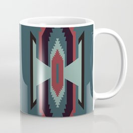 Southwestern Santa Fe Tribal Pattern Coffee Mug