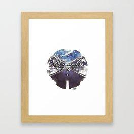 Try Again - 25/365 Framed Art Print