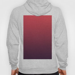 SPIRIT REFLECTION - Minimal Plain Soft Mood Color Blend Prints Hoody
