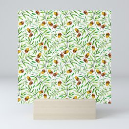 Pine Cone Pattern Mini Art Print