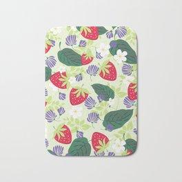 Strawberrie patten Bath Mat