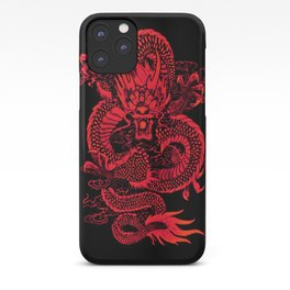 Epic Dragon Red iPhone Case