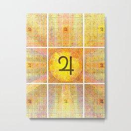 Guru/Surya (Jupiter Sun) Invocation Metal Print