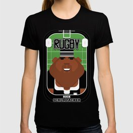 Rugby Black - Ruck Scrumpacker - Hayes version T-shirt