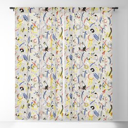 doodle Blackout Curtain