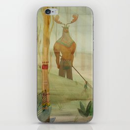 Mundos perdidos iPhone Skin