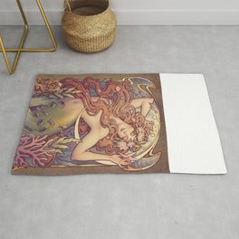 Andersen Little Mermaid Nouveau Rug