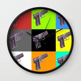 Bang Bang -  Sig Sauer Pistol 9mm Wall Clock