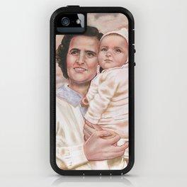 Saint Gianna Molla iPhone Case