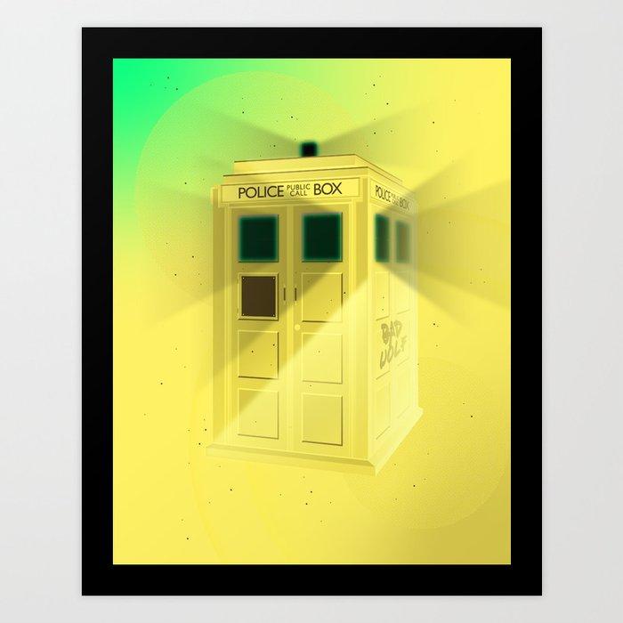 Police Box Art Print