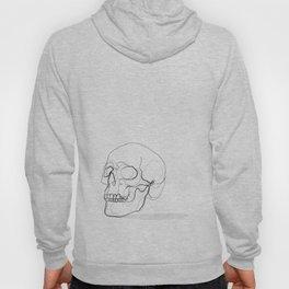 Skull Line Drawing Hoody
