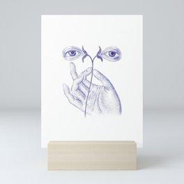 The Eyes of Saint Lucia Mini Art Print