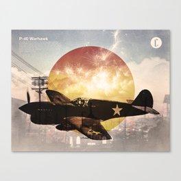 Warhawk Canvas Print