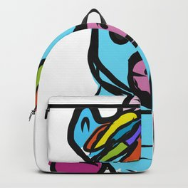 Cute Unicorn design for Girls Hand Drawn Graphic product Backpack