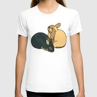 bunnies T-shirts featuring Bunnies by Nemki