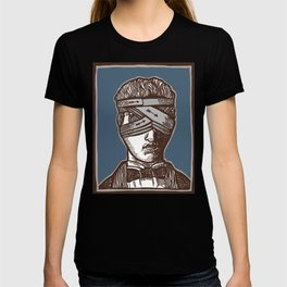 Wrapped Head Engraving Study T-shirt