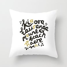 Aroha Throw Pillow