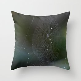 Spiders II Throw Pillow