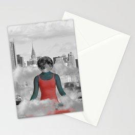 Daydreaming in NYC Stationery Cards