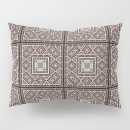 National classic abstract pattern retro print Pillow Sham