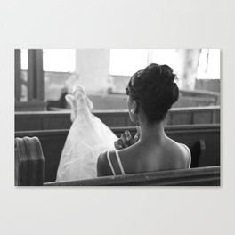 Be still - by Thaler Photography Canvas Print