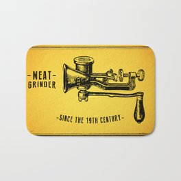 Meat Grinder Bath Mat