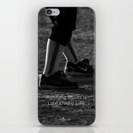 Running Bases iPhone Skin