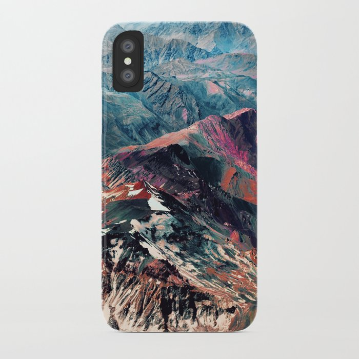 mountains 2 iPhone Case