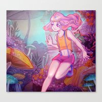 cyarin Canvas Prints featuring Child. by Cyarin