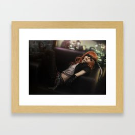 INTOXICATED Framed Art Print