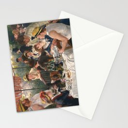 Luncheon of the Boating Party by Renoir Stationery Cards