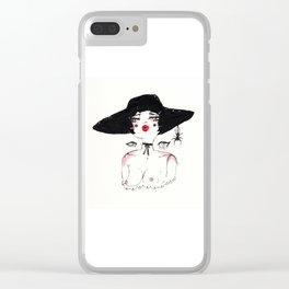Bernadette Clear iPhone Case