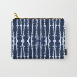 Palm Tiki Shibori Indigo Carry-All Pouch
