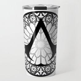 Assassin's Creed Logo Notre Dame Travel Mug