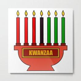Kwanzaa Metal Print